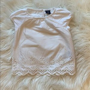3/$40 NWOT Baby Gap Embroidered Blouse